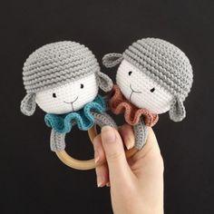 Knit Or Crochet, Crochet Hooks, Knitting Patterns, Crochet Patterns, Knitted Animals, Wooden Rings, Handmade Wooden, Lamb, Acacia
