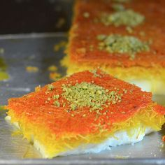 I had Kunafa for the first time at a Turkish restaurant last week. I want to learn how to make it!