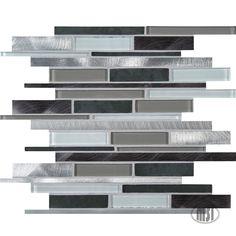 Cityscape Metal Mosaic $14.89 s/f