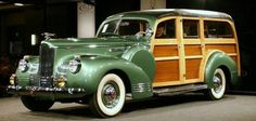 1941 Packard 120 deluxe station woodie. #superbad