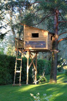 Puumaja. Treehouse.