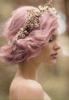 beautiful fairy hair