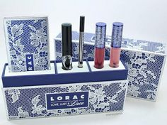 Our Love, Lust & Lace Full Face Collection comes with so much…including a reusable box! Xo Carol