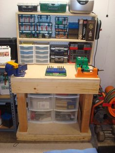 """We have no issue building one, that's checked off the list a few times over. Interested in the organizing. . . . Official """"HOW TO"""" build a basic reloading bench--Plans and Process w/pics - AR15.COM"""