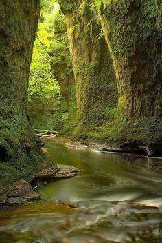 Finnich Glen, Loch Lommond, Scotland