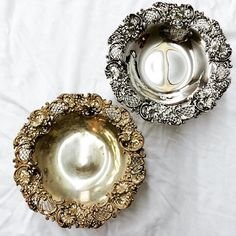 Before and after, what a difference an expert silversmith makes!