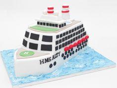 cruise ship cake | by Hannah Loves Cake