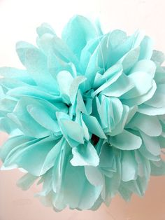 Aqua ... 1 Pom by pomtree on Etsy, $4.00