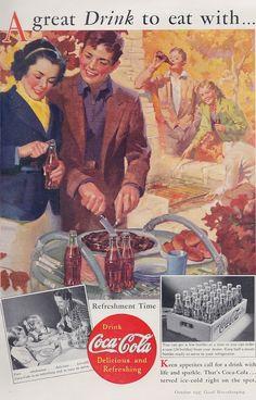 Coca Cola 1937 Coke Coca-Cola