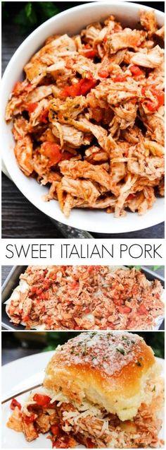 Sweet Italian Pulled