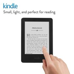 Kindle E-reader, 6 Glare-Free Touchscreen Display, Wi-Fi perfect for reading Wi Fi, Amazon Black Friday, Tablet 7, Usb, Amazon Kindle, Book Reader, Best Quotes, Display, Learning