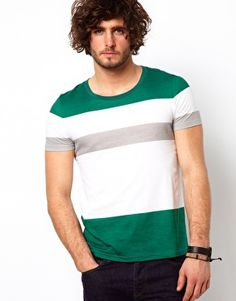 Enlarge ASOS Stripe T-Shirt