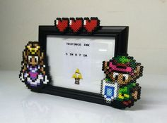 Link and Zelda photo frame <3