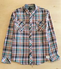 Shoulder to Shoulder Shirt Length Two holes on back of shirt as shown in pics. Casual Shirts, Sick, Button Up Shirts, Plaid, Urban, Long Sleeve, Closet, Tops, Fashion