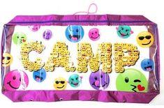 Camp Emoji Soft Underbed Storage