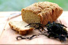 slimming down gluten free bread with seaweeds kombu odchudzajacy chleb bezglutenowy z kaszy jaglanej i quinoa z glonami morskimi