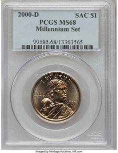Sacagawea Dollar Mint Error Missing Edge Lettering PCGS MS66 Moy SKU54665 2009