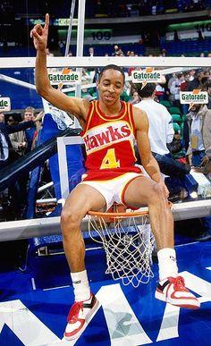 Spud Webb 1986 NBA Dunk Contest