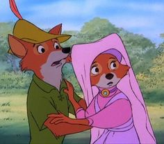 Robin Hood. I watched this movie for the first time when I was five, and fell in love with Robin Hood!