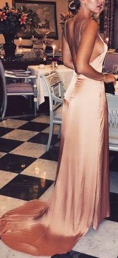 what a beautiful maxi silk dress
