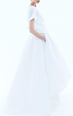 Classy Long Gown ... with Pockets ... FROM: Rochas on Moda Operand / iRochas  Trunkshow Look 7 on Moda Operandi