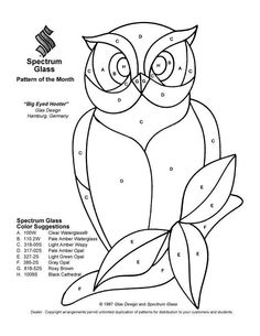 Free Stained Glass Patterns patterns from Spectrum Glass. Stained Glass Church, Stained Glass Quilt, Stained Glass Birds, Faux Stained Glass, Stained Glass Projects, Bird Patterns, Applique Patterns, Mosaic Patterns, Stained Glass Patterns Free