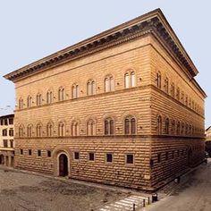 Altstadt von Florenz, Piazza Santa Maria Novella und Umgebung : Palazzo Strozzi