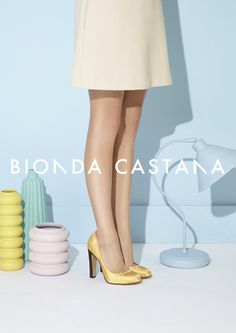 Bionda Castana Spring 2012... love the colours from the ad campaign and the shoes