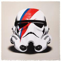 David Bowie's Helmet For Star Wars !