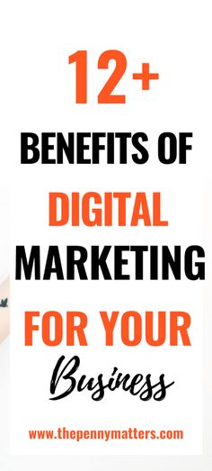The Importance of Digital Marketing in Growing Your Business {12 Benefits} 1 Digital Marketing Trends, Social Media Marketing Business, Digital Marketing Strategy, Internet Marketing, Online Marketing, Start Online Business, Marketing Channel, Successful Online Businesses, Customer Service