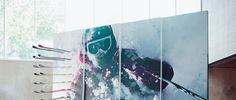 Formica Envision - Custom Laminate - Ski Wall