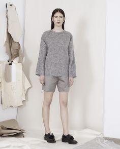 VLADIMIR KARALEEV A/W 15/16 womenswear collection // Credit: Cathleen Wolf