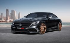 2015 Brabus Mercedes Benz S63 850 Biturbo Coupe Car - http://www.fullhdwpp.com/transportation/cars/2015-brabus-mercedes-benz-s63-850-biturbo-coupe-car/