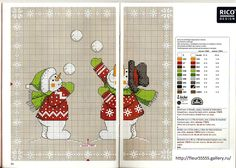 Gallery.ru / Фото #13 - Rico 101, 102, 103, 104, 105, 106, 107 - Fleur55555; Snowballing Snowmen
