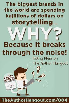"""Ep 004: """"Storytelling for Book Marketing"""" 