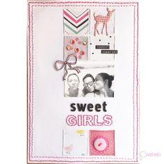 LAYOUT SWEET GIRLS
