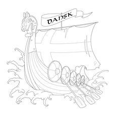 Viking Tattoo Design by CurtisRU.deviantart.com
