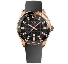 Hugo Boss Rose Gold Plated Men's Watch