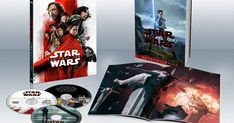 The Last Jedi Blu-ray & DVD Release Date, Full Details Revealed -- Disney and Lucasfilm have released a new trailer and full Blu-ray and DVD details for Star Wars: The Last Jedi. -- movieweb.com/...