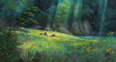 Screencap Gallery for The Secret World of Arrietty Bluray, Studio Ghibli). Arrietty and the rest of the Clock family live in peaceful anonymity as they make their own home from items that they borrow from the house's Miyazaki, Secret World Of Arrietty, The Secret World, Secret Life, Studio Ghibli Background, Animation Background, Studio Ghibli Art, Studio Ghibli Movies, Local Art
