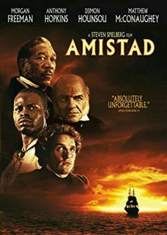 """Amistad"" Directed by: Steven Spielberg Best Period Movies, The Best Films, All Movies, Great Movies, Movie List, I Movie, Badass Movie, Be With You Movie, Morgan Freeman"