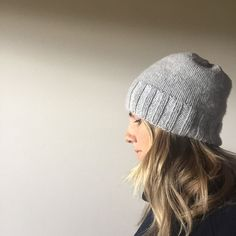 """I improvised this simple hat """"pattern"""" many years ago and have made it many  many times, and made many versions. I wanted to share with you my basic  recipe, as this pattern suits everyone and fits a wide range of heads. My  two favourite versions fit me, my three kids (who are between 5 and 10) and  my fella.  It is hat knitting at it's absolute simplest and the awesome thing about it  is that it looks great whether it is a bit tighter or a bit slouchier. Mine  tend to slouch up over time…"""