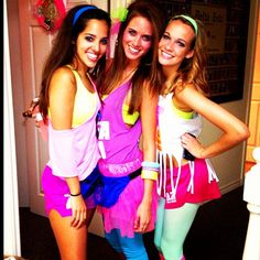 costumes and dress image  sc 1 st  Pinterest & 80s rave - Drinking through the Decades | Lifeu0027s a Party | Pinterest ...