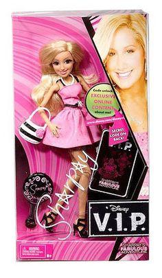 Sharpay Evans (Ashley Tisdale) Mattel Dolls - Disney VIP (2011)