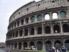 Walk around the Coliseum as a start to touring Ancient Rome