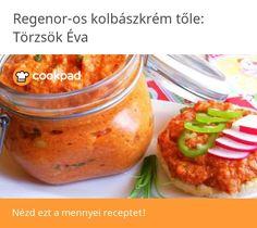 Regenor-os kolbászkrém🥘 Baked Potato, Dips, Potatoes, Baking, Ethnic Recipes, Food, Sauces, Potato, Bakken