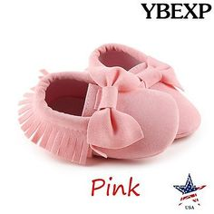 Baby Girls Shoes: Baby Shoes Infant Boy Girl Toddler Moccasin/Leather Soft Sole Suede 0-12M -> BUY IT NOW ONLY: $5.99 on eBay!
