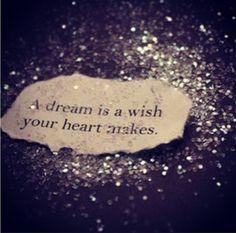 Cinderella quote.....love the glitter