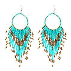 Fashion Acrylic Beads Bohemian Earrings For Women Big Long Bead Tassel Drop Earrings Jewelry Earrings boucle d'oreille