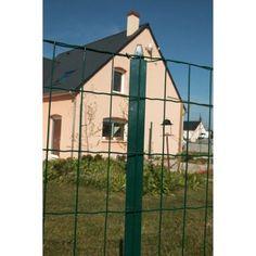 Grillage soudé vert H.1 x L.20 m, maille de H.100 x l.100 mm 18,90€, soit 0,95€/m